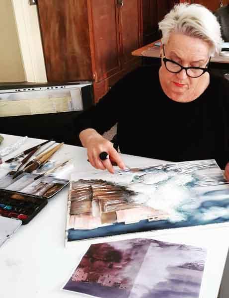 Lorenza Pasquali | Acquarellista Pittrice ad Acquerello. Artista di Milano. Quadri Personalizzati | Immagine chi sono 2
